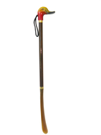 Obouvací lžíce na obuv dřevoplastová barevná - kachna - 60 cm