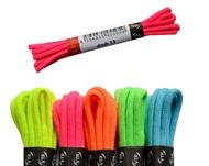 Společenské kulaté tkaničky neonové