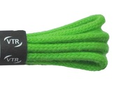 Tkaničky bavlněné kulaté tenké 80 cm zelená