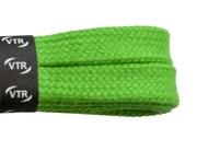 Tkaničky bavlněné ploché 100 cm zelená