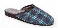 Pantofle s kožíškem pánské 7-20102