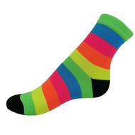 VšeProBoty ponožky NEON SPORT proužek