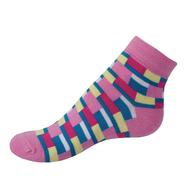 VšeProBoty ponožky TRENDY růžové
