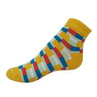 VšeProBoty ponožky TRENDY žluté
