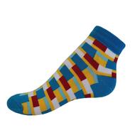 VšeProBoty ponožky TRENDY modré