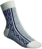 Ponožky Gultio art. 10 - zimní norský vzor bílomodré