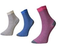Art. 10 Klasické dámské ponožky Proužky Knebl Hosiery