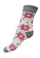 Art. 18 Dětské zimní termo ponožky Červená vločka Knebl Hosiery