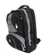 BOS 3267 batoh batoh školní i na notebook black-grey