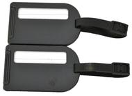 BZ 4066 štítek na kufr black