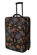 BZ 4427 - 1 kufr na kolečkách - 50 cm brown