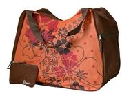 BZ 3356 plážová taška brown-orange