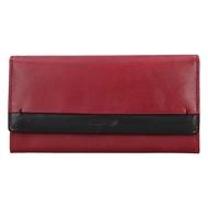 Dámská peněženka LAGEN kožená 50400 červená/černá CARDINAL/BLK