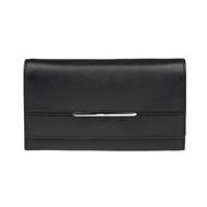 Dámská peněženka LAGEN kožená 9530 černá BLK