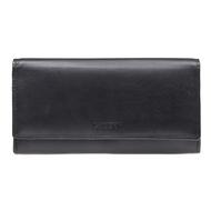 Dámská peněženka LAGEN kožená TR-2114 černá BLK