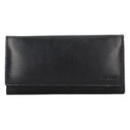 Dámská peněženka LAGEN kožená V-25 černá BLK
