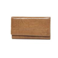 Dámská peněženka LAGEN kožená W-2025 světle hnědá CGN