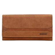Dámská peněženka LAGEN kožená W-2025/V hnědá BRN
