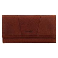 Dámská peněženka LAGEN kožená BLC/4389 hnědá CGN