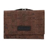 Dámská peněženka LAGEN 50178 hnědá BRN