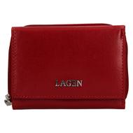 Dámská peněženka LAGEN kožená 50453 červená RED