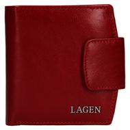 Dámská peněženka LAGEN kožená 50465 červená RED