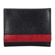 Dámská peněženka LAGEN kožená BLC/160231 černá/červená BLK/RED