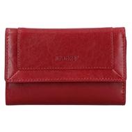 Dámská peněženka LAGEN kožená BLC/4390 červená/červená RED/RED