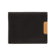 Pánská peněženka LAGEN kožená 615196 černá/světle hnědá BLK/TAN