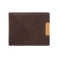 Pánská peněženka LAGEN kožená 615196 hnědá/světle hnědá BRN/TAN