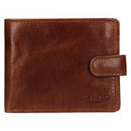 Pánská peněženka LAGEN kožená E-1036/T světle hnědá TAN