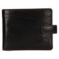 Pánská peněženka LAGEN kožená E-1036/T tmavě hnědá D.BRN