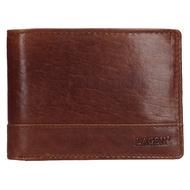 Pánská peněženka LAGEN kožená LM-64665/T hnědá TAN