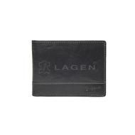 Pánská peněženka LAGEN kožená LM-64665/T černá BLK