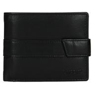 Pánská peněženka LAGEN kožená V-03 černá BLK