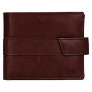 Pánská peněženka LAGEN kožená V-03 hnědá BRN