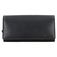 Číšnická peněženka LAGEN kožená LG-02 černá BLK