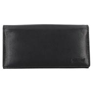 Číšnická peněženka LAGEN kožená LG-01 černá BLK