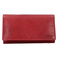 Číšnická peněženka LAGEN kožená 51245 červená RED