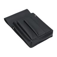 Pouzdro na číšnickou peněženku LAGEN kožené 5167 černá BLK