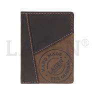 Pánská peněženka LAGEN kožená 51145 hnědá BRN
