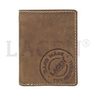 Pánská peněženka LAGEN kožená 5096 hnědá BRN
