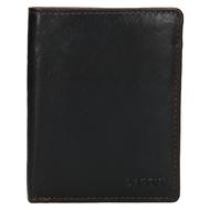 Pánská peněženka LAGEN kožená 2001/T tmavě hnědá D.BRN