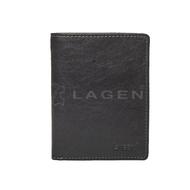 Pánská peněženka LAGEN kožená 2001/T černá BLK