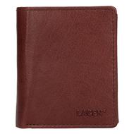 Pánská peněženka LAGEN kožená 2310004 hnědá BRN
