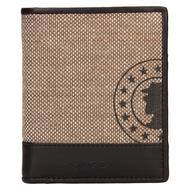 Pánská peněženka LAGEN kožená 50449 béžová/tm.hnědá L.BEIGE/D.BRN