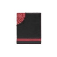 Pánská peněženka LAGEN kožená LG-1813 černá/červená BLK/RED