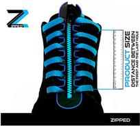 Zipped zipové tkaničky