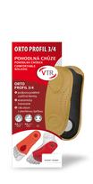 VTR Orto profil 3/4 anatomické kožené vložky