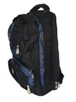BOS 3267 batoh školní i na notebook black-blue